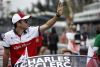 Charles Leclerc, Alfa Romeo Sauber F1 Team on the drivers parade at Formula One World Championship, Rd19, Mexican Grand Prix, Race, Circuit Hermanos Rodriguez, Mexico City, Mexico, Sunday 28 October 2018.