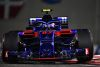 ABU DHABI, UNITED ARAB EMIRATES - NOVEMBER 25: Pierre Gasly of France and Scuderia Toro Rosso driving the (10) Scuderia Toro Rosso STR13 Honda on track during the Abu Dhabi Formula One Grand Prix at Yas Marina Circuit on November 25, 2018 in Abu Dhabi, United Arab Emirates.  (Photo by Clive Mason/Getty Images)