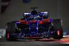 ABU DHABI, UNITED ARAB EMIRATES - NOVEMBER 25: Brendon Hartley of New Zealand driving the (28) Scuderia Toro Rosso STR13 Honda on track during the Abu Dhabi Formula One Grand Prix at Yas Marina Circuit on November 25, 2018 in Abu Dhabi, United Arab Emirates.  (Photo by Clive Mason/Getty Images)