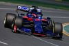 MELBOURNE, AUSTRALIA - MARCH 15: Daniil Kvyat driving the (26) Scuderia Toro Rosso STR14 Honda on track during practice for the F1 Grand Prix of Australia at Melbourne Grand Prix Circuit on March 15, 2019 in Melbourne, Australia.  (Photo by Charles Coates/Getty Images)