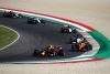 SCARPERIA, ITALY - SEPTEMBER 13: Alexander Albon of Thailand driving the (23) Aston Martin Red Bull Racing RB16 leads Lando Norris of Great Britain driving the (4) McLaren F1 Team MCL35 Renault during the F1 Grand Prix of Tuscany at Mugello Circuit on September 13, 2020 in Scarperia, Italy. (Photo by Bryn Lennon/Getty Images) // Getty Images / Red Bull Content Pool  // SI202009130162 // Usage for editorial use only //