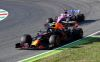 SCARPERIA, ITALY - SEPTEMBER 13: Alexander Albon of Thailand driving the (23) Aston Martin Red Bull Racing RB16 leads Sergio Perez of Mexico driving the (11) Racing Point RP20 Mercedes on track during the F1 Grand Prix of Tuscany at Mugello Circuit on September 13, 2020 in Scarperia, Italy. (Photo by Miguel Medina - Pool/Getty Images) // Getty Images / Red Bull Content Pool  // SI202009130222 // Usage for editorial use only //