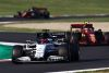 SCARPERIA, ITALY - SEPTEMBER 13: Daniil Kvyat of Russia driving the (26) Scuderia AlphaTauri AT01 Honda leads Charles Leclerc of Monaco driving the (16) Scuderia Ferrari SF1000 during the F1 Grand Prix of Tuscany at Mugello Circuit on September 13, 2020 in Scarperia, Italy. (Photo by Mark Thompson/Getty Images) // Getty Images / Red Bull Content Pool  // SI202009130216 // Usage for editorial use only //